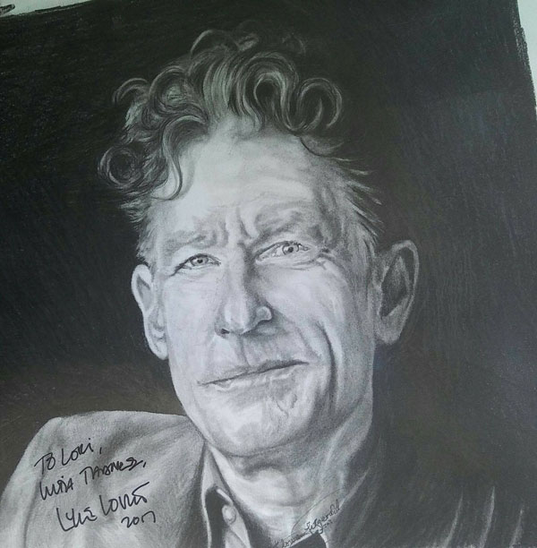 Lyle Lovett Pencil