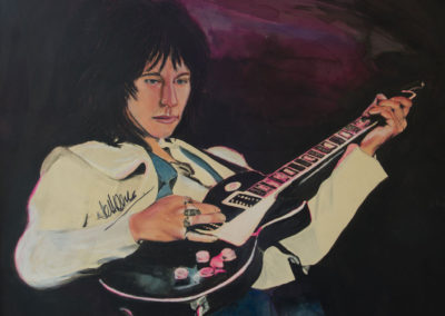 Autographed Jeff Beck