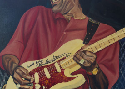 Autographed Buddy Guy