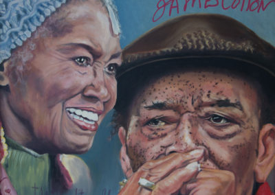 Autographed by James Cotton – James Cotton and Odetta