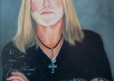 Autographed Gregg Allman