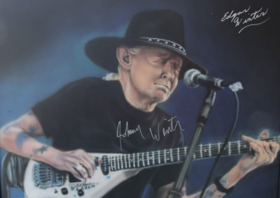 Another Autographed Johnny Winter