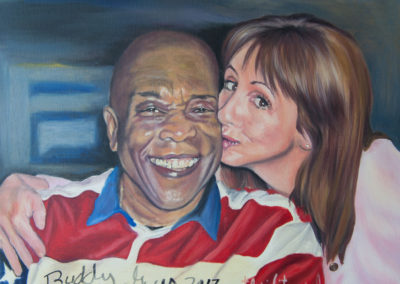 Self-Portrait Signed by Buddy Guy