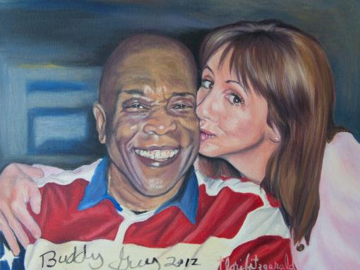 Self-Portrait Signed by Buddy Guy