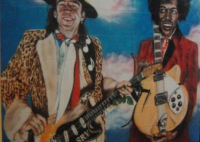 SRV and Jimi