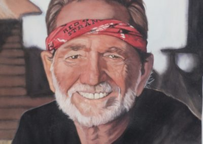 Autographed Willie Nelson