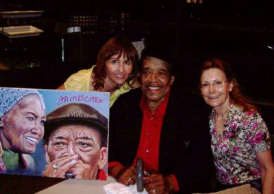 JAMES COTTON AND WIFE