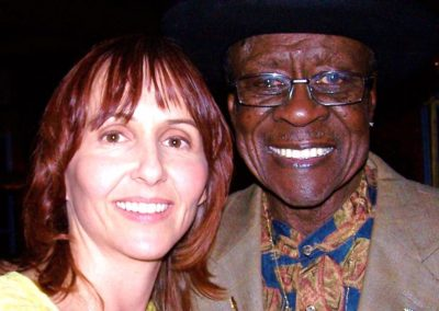 me with blues bass legend bob stroger