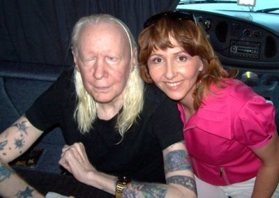 me with johnny winter again